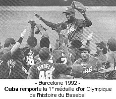 Cuba, Champion Olympique 92'