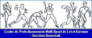 logo de la section Baseball